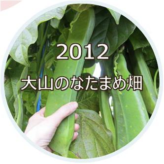 2012 大山のなたまめ畑