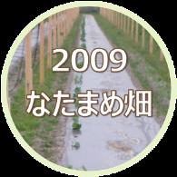 2009 大山のなたまめ畑